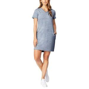 32 Degrees Women's V-neck Short Sleeve Dress